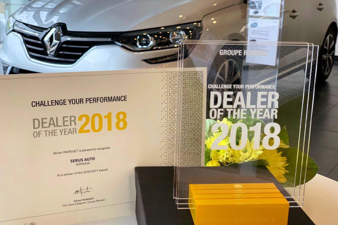 Serus - Dealer of the year